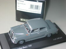 Mercedes 180 saloon 1953 rarely available Grey 1/43 Minichamps