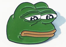 Sad Pepe 4Chan Dank Rare Pepes Enamel Lapel Pin