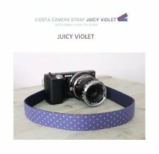 Ciesta Juicy Violet Camera Strap for DSLR Mirrorless Camera New
