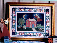 "Linda Myers ""Angel Watching Over Me"" Counted Cross Stitch Kit  Quilts"