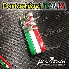 Portachiavi Bandiera Tricolore Italia Auto Moto FIAT 2007 - 2016