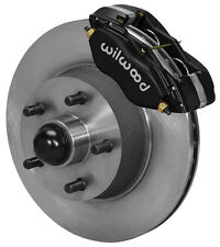 "WILWOOD DISC BRAKE KIT,FRONT,58-68 FORD,MERCURY,EDSEL,11"" ROTORS,BLACK CALIPERS"
