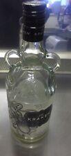 The kraken bottle - 70 cl rum bottle with handles ideal for glitter or lamp