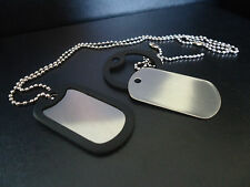 US Military Style Dog Tags FREE ENGRAVING
