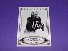 2012 National Treasures JIM PLUNKETT #150 Legends/99 RAIDERS - Stanford CARDINAL