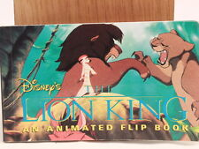 The Lion King: Animated Flip Book. 1994 1st Edition. NEW!