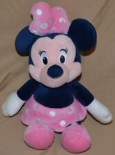 "12"" Minnie Mouse Disney Plush Toy Certified Asthma & Allergy Friendly Blue Pink"