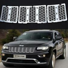 JEEP Grand Cherokee Upper Silver Grille Insert honeycomb mesh fully Chrome WK14