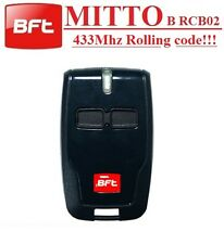BFT MITTO2 B RCB02 2-channel remote, 433,92Mhz, New Version of  BFT Mitto2