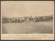 NAMIBIE NAMIBIA GRAND CHEF BOULA FUSILLE PAR LES ALLEMANDS IMAGE 1919