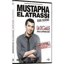 """DVD NEUF """"MUSTAPHA EL ATRASSI SUR SCENE - LA CIGALE VOUS APPARTIENT"""" spectacle"""