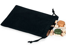 50 Black 5x7 Jewelry Pouches Velour Velvet Gift Bags