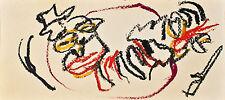 Hartwig Ebersbach - ohne Titel - farbige Zeichnung  - 1995