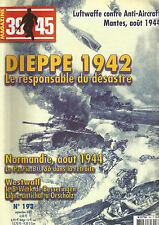 39-45 N° 193 DIEPPE 1942 / NORMANDIE AOUT 1944 / WESTWALL / LUFTWAFFE /ANTICRAFT