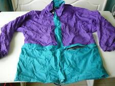 kway veste vintage bicolore M se met en boule