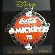 Disney Pin: M&P - Coca-Cola Celebrates Mickey 75 Years of Fun - (# 5 Round)