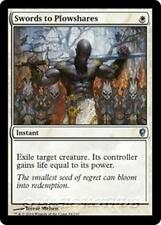 SWORDS TO PLOWSHARES Conspiracy MTG White Instant Unc