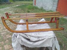 Slittino ( slitta ) in legno anni 50 - 60 vintage completamente restaurato