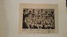 C.B. & Q. West Burlington Iowa 1911 Baseball Team Picture SP VERY RARE