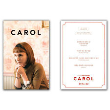 Carol Movie Poster Card 2015 Rooney Mara, Cate Blanchett, Jake Lacy, Todd Haynes
