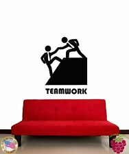 Wall Stickers Vinyl Decal Quote Message Teamwork Decor For Office (z1925)