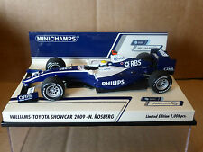 Minichamps 1:43 Nico Rosberg Williams-Toyota showcar F1 2009