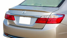 PAINTED REAR SPOILER FOR A HONDA ACCORD FLUSH MOUNT FACTORY STYLE  2013-2017