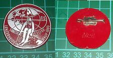RARA SPILLA PLASTICA SCI SKI FIS LENZERHEIDE CUP 1980 23 FEBBR