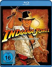 Blu-ray INDIANA JONES - The Complete Adventures (4-Discs) # Harrison Ford ++NEU