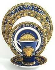 VERSACE MEDUSA 5 PLACE SETTING PLATES CUP SET NEW WEDDING GIFT RETAIL 650$