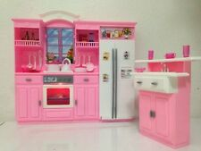 New Toy Barbie Size Dollhouse Furniture - My Fancy Life Kitchen Play Set Gift Ch