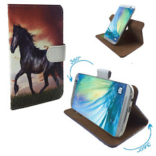 Funda protectora para móvil-Star n9000 note 3 III case cover funda bolsa 360 ° caballo XL