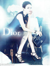PUBLICITE ADVERTISING 066  2012  Dior  boutique chaussures sac à main