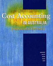 Cost Accounting in Australia: A Managerial Emphasis by
