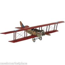 AUTHENTIC MODELS Flying Circus Jenny Medium Military Airplane Flight Aircraft