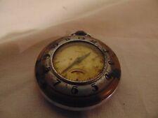 """vintage Ingraham pocket Watch 2"""" round"""