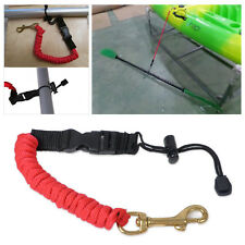 New Best Canoe Kayak Paddle Leash Safety Rod Leash Lanyard Fishing Rod Leash