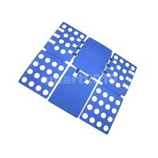 Convenient Clothes T Shirt Top Folder Folding Board Adult Organizer Blue