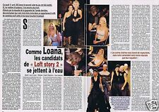 Coupure de presse Clipping 2002 Loana  (2 pages)