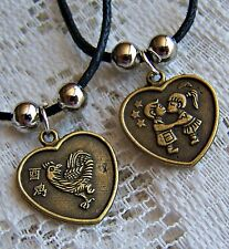 CHINESE ~  ZODIAC ~  ROOSTER ~ STAR..SIGN ~ NECKLACE -- (GREAT_GIFT)