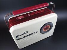 Blechdose Gebäckdose Vorratsdose Radio Cookie Nostalgie,25 cm Schmuckdose,NEU