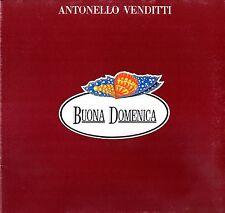 """ANTONELLO VENDITTI - Buona Domenica 1979 (Vinile=Mint) LP 12"""" GATEFOLD"""