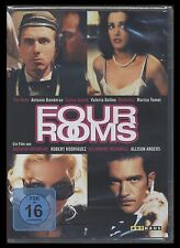 DVD FOUR ROOMS (4) - QUENTIN TARANTINO + ROBERT RODRIGUEZ - TIM ROTH + MADONNA *