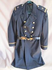 Pre-WWI US Navy Naval Wool Frock Jacket Coat w/Leather Belt & Eagle Buckle