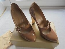 VICINI Nude Lackleder Pumps NP 350€ TOP OVP High Heels Schuhe Tod schick Gr 39
