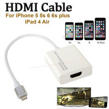 8 Pin Lightning Digital HDMI to HDTV AV Adapter Cable For iPad 2 iPhone 5 6 6s