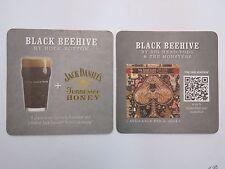 Beer Coaster ~ ROCK BOTTOM Black Beehive ~ Big Head Todd Monsters ~ Jack Daniels