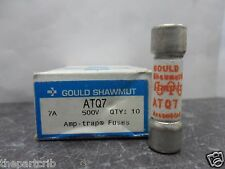 New Lot Shawmut ATQ 7 Amp Fuses Bussmann FNQ-7 Time Delay 500 Vac NIB
