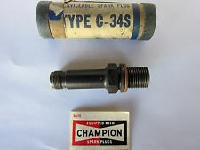 CHAMPION Aircraft SPARK PLUG - Engine Part # C34S or C-34S - Remanufactured
