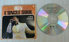 RARE CD SINGLE FRENCH PROMO BEN L'ONCLE SOUL EXTRAITS LIVE PARIS 5 TITRES